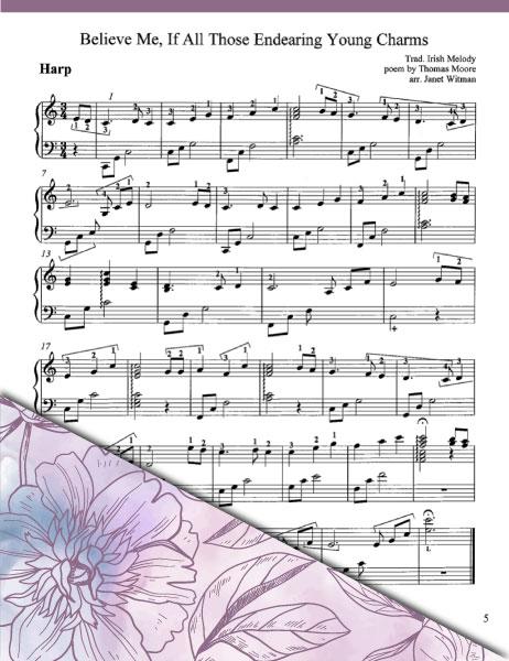 The Harp of Tara Swells (Celtic Solos & Ensemble) - Brandywine Harps