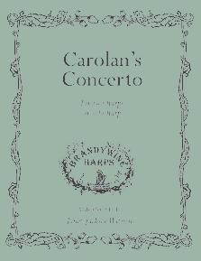 Carolan's Concerto - Harp Sheet Music - Brandywine Harps