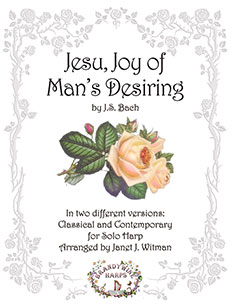 Jesu, Joy of Man's Desiring - Harp Sheet Music - Brandywine Harps