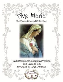 Ave Maria - Bach/Gounod Collection - Harp Sheet Music - Brandywine Harps
