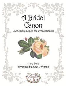 A Bridal Canon - Harp Sheet Music - Brandywine Harps